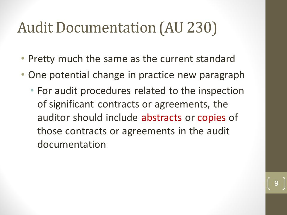 Special Considerations—Audit of Group Financial Statements (AU 600) Preconditions to making reference to others' work Component f/s prepared on same GAAP basis* Component auditor (CA) followed GAAS Component auditor report is not restricted as to use *exception in application paragraphs for GASB and FASAB, which address this 20