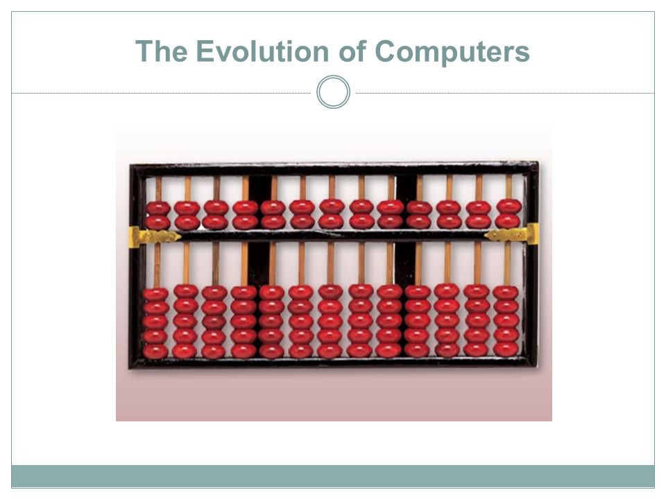 The Evolution of Computers