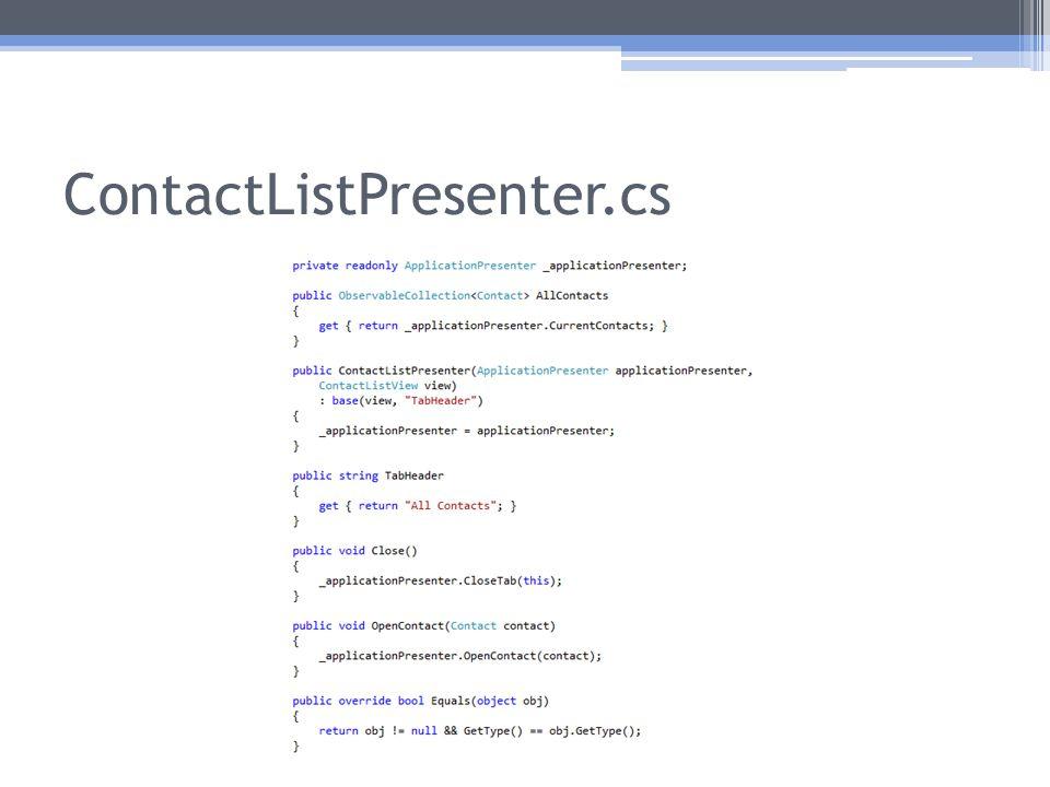 ContactListPresenter.cs