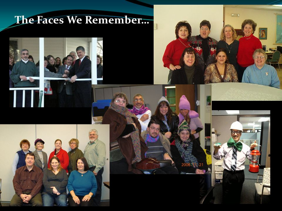 The Faces We Remember…