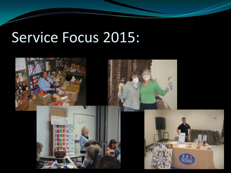 Service Focus 2015: