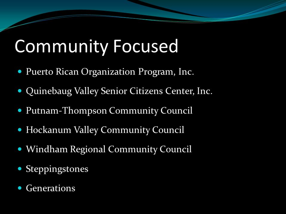 Community Focused Puerto Rican Organization Program, Inc.