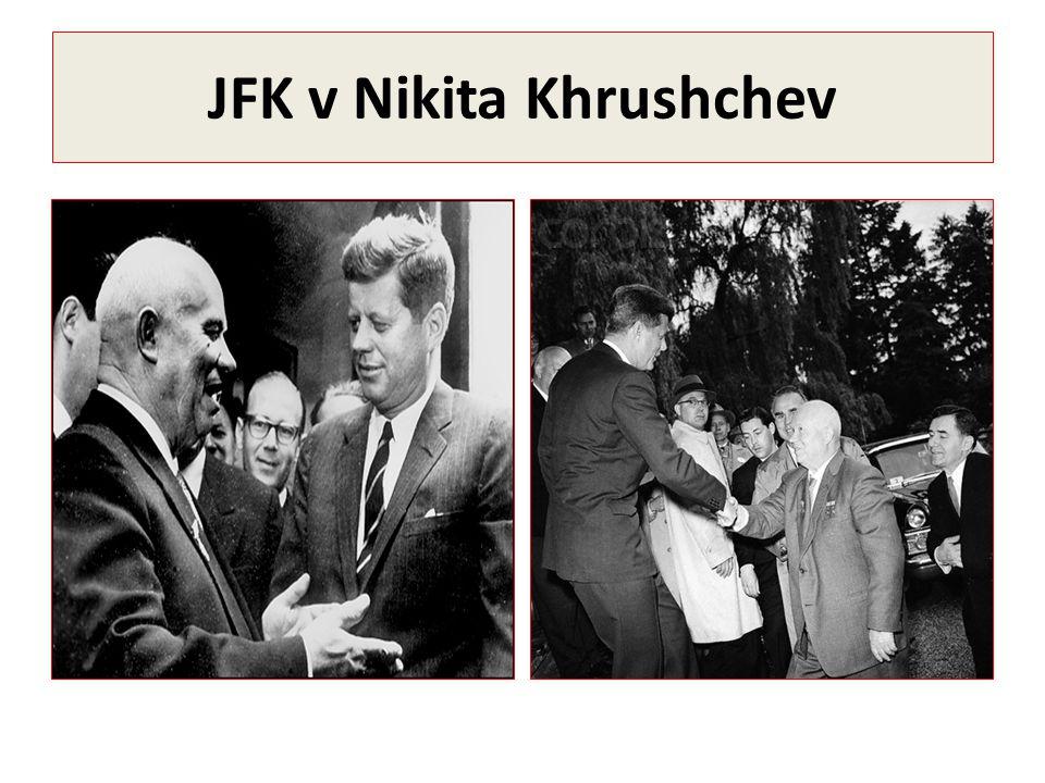 JFK v Nikita Khrushchev