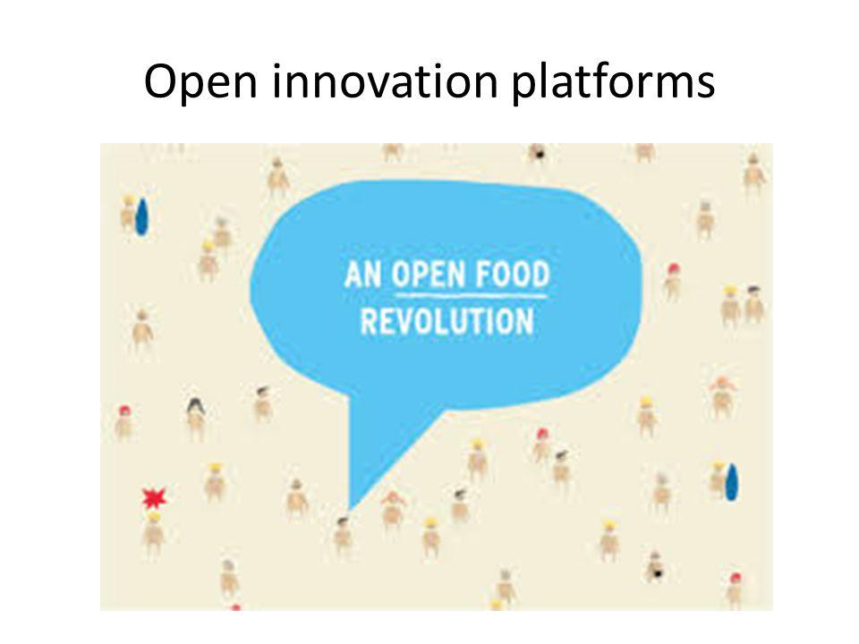 Open innovation platforms