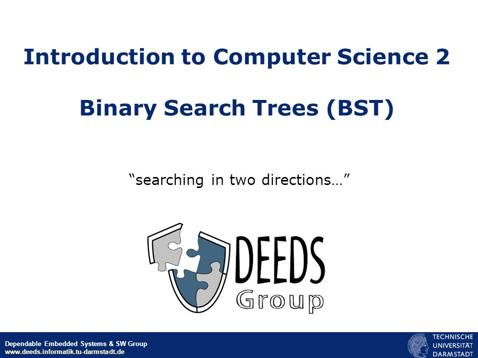 ICS-II – 2008Lecture 13: Binary Search Trees2 Binary Search Tree 30 1035 120 28 21 Root