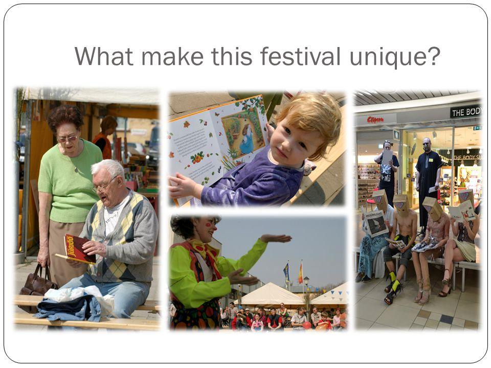 What make this festival unique?