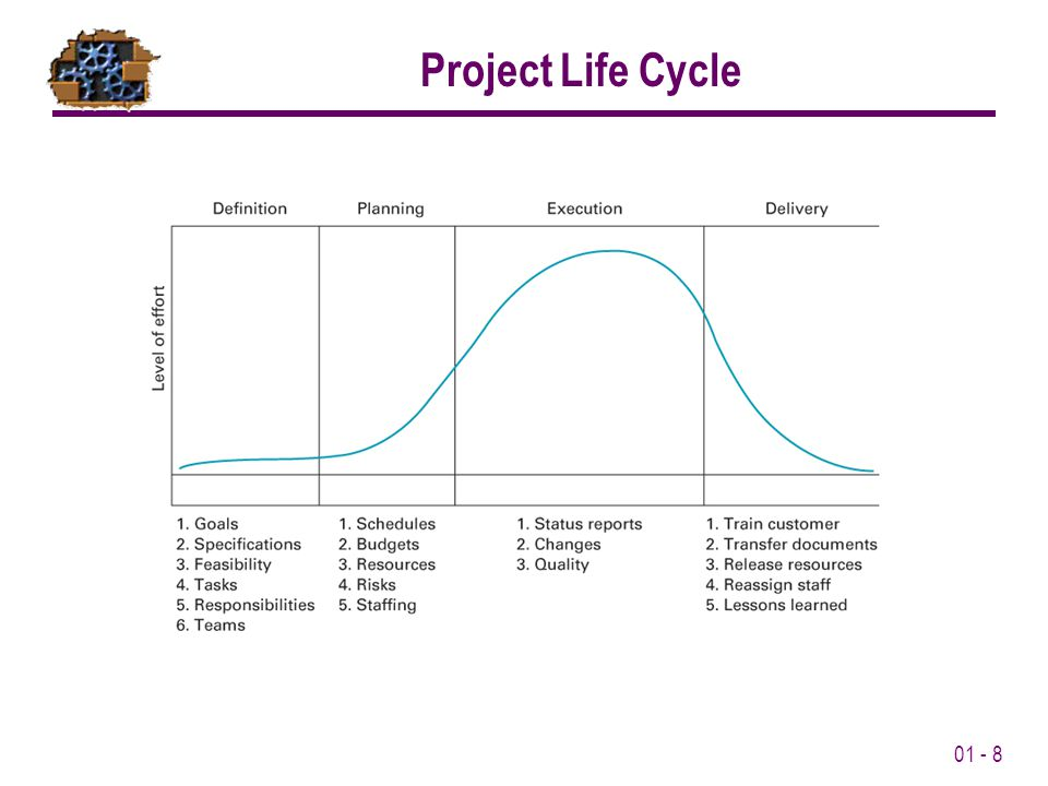 01 - 8 Project Life Cycle