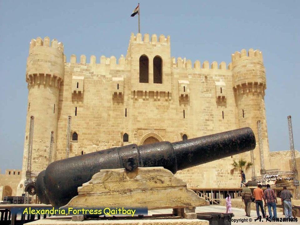 Alexandria, Fortress Qaitbay