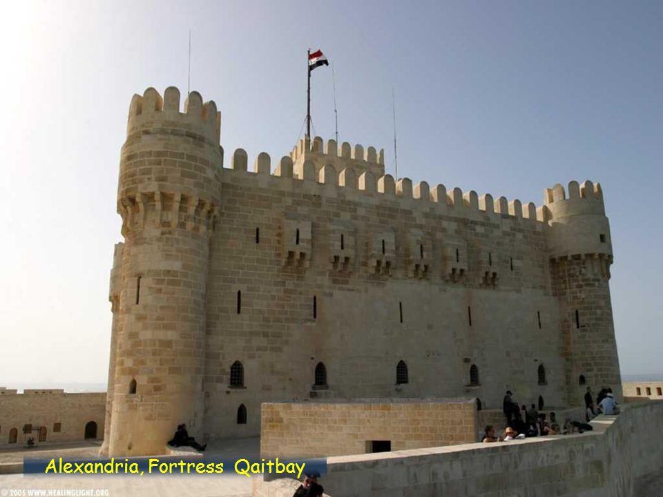 Alexandria, Fortress, Qaitbay