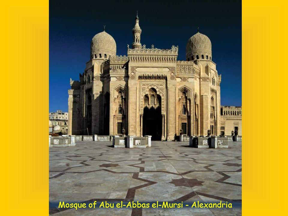 Mosque of Abu el-Abbas el-Mursi - Alexandria