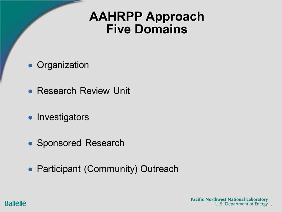4 First Step - Perform Gap Analysis 77 Elements Assess Policies and Procedures Using: Modified AAHRPP Self-Assessment Tool Applicable Regulations OHRP Guidance AAHRPP Tip Sheets Other HRPP Examples Focus on Outcome