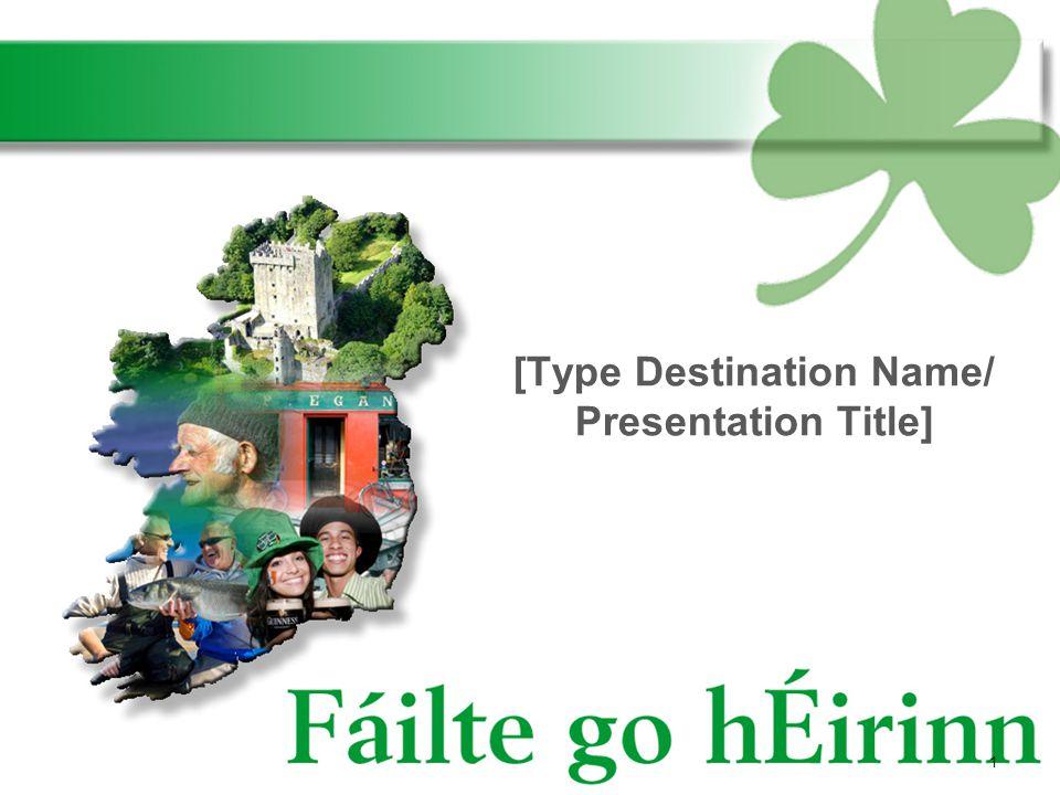 1 [Type Destination Name/ Presentation Title]