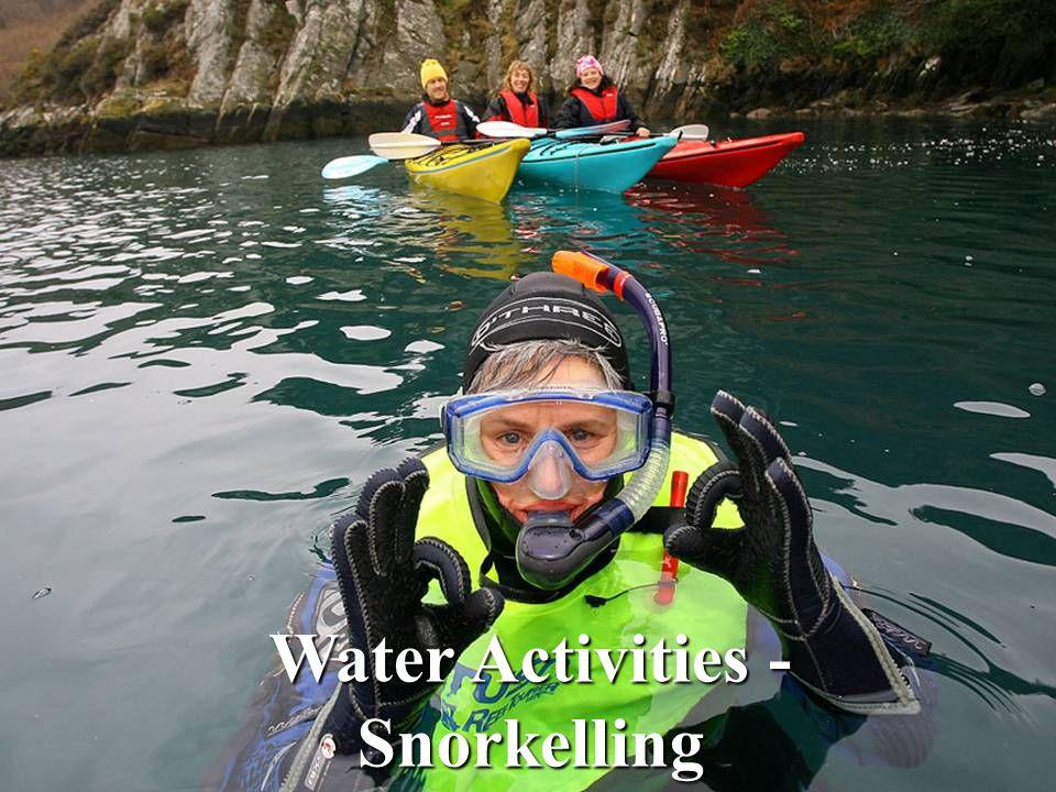 Water Activities - Snorkelling