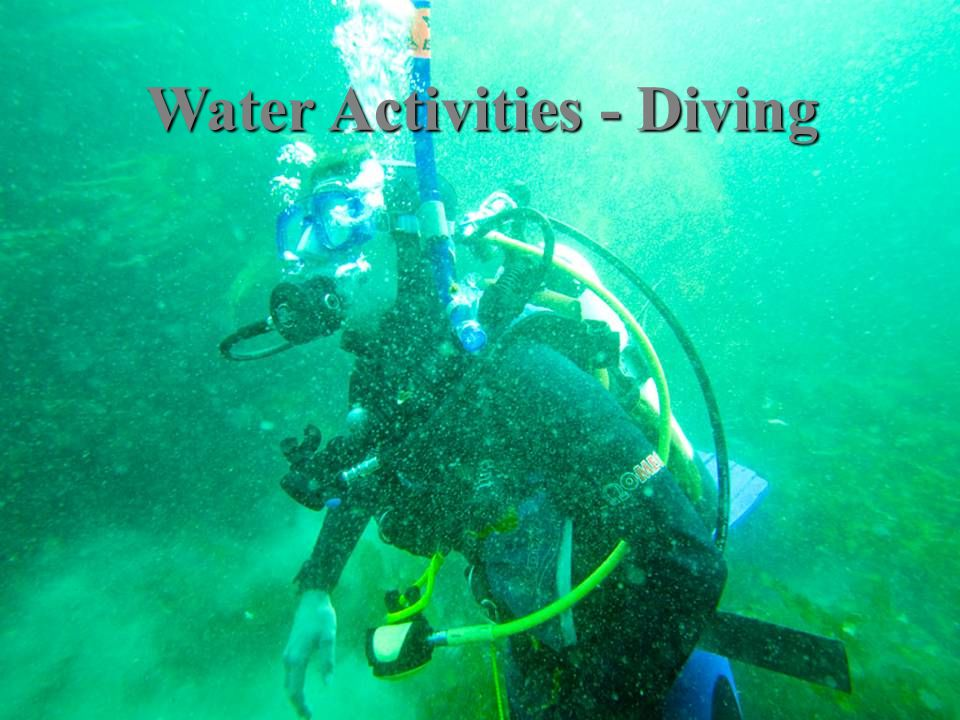 Water Activities - Diving