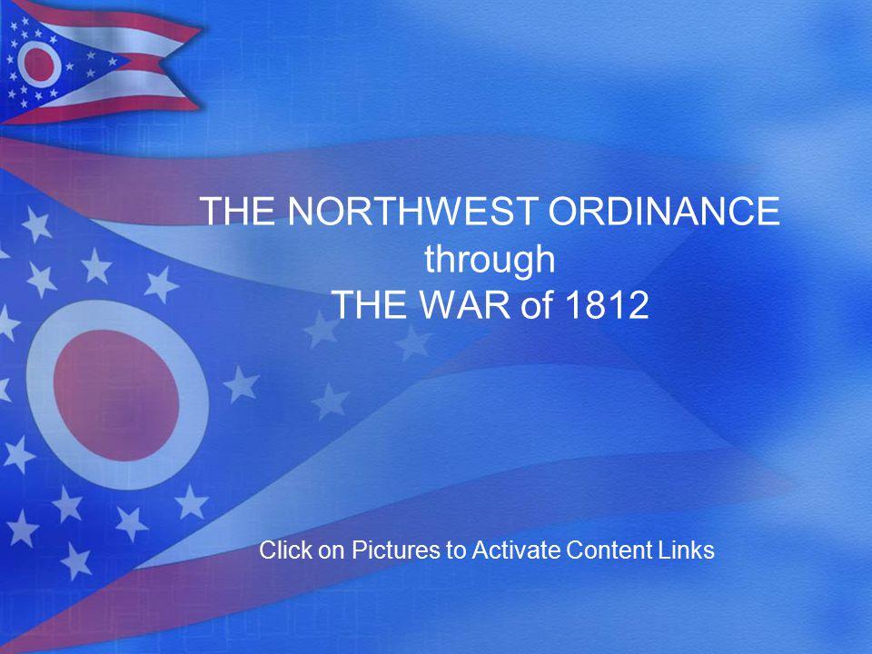 1700 1800 1785: Land Ordinance of 1785 1787: Northwest Ordinance of 1787 1790: Harmar's Defeat