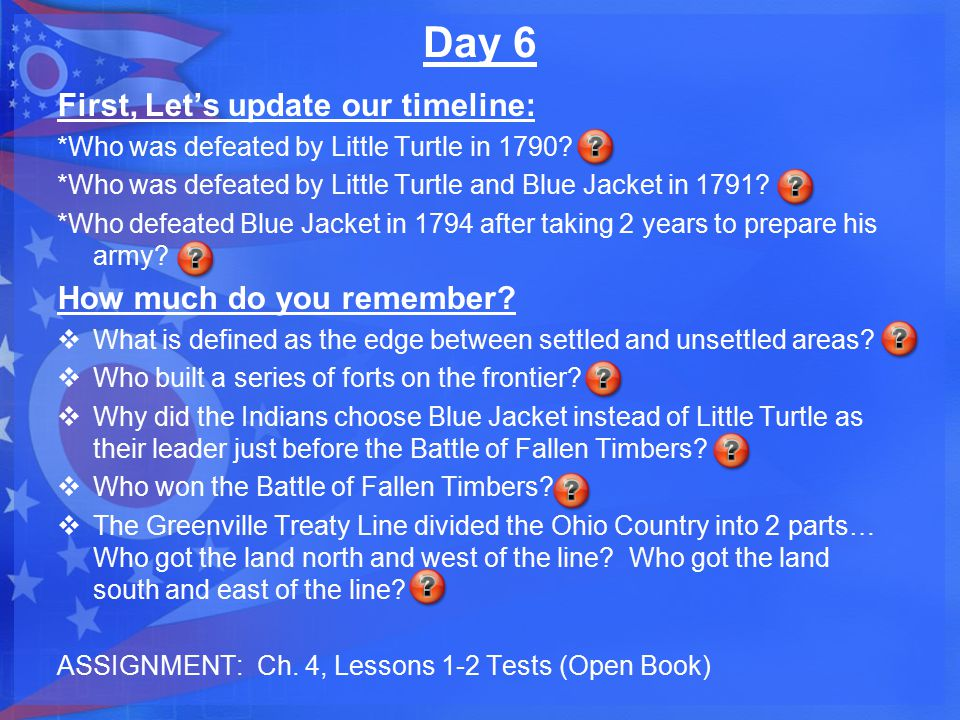 Day 7 What will you be able to do after today's lesson.