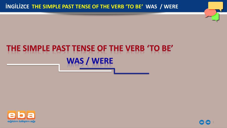 2 'To be' (olmak ) fiilidir ve durum bildirir.Geniş zamanda kullanımı am/ is/ are dır.