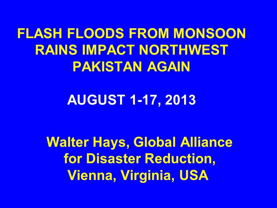 MUZAFFARABAD: RISING FLOOD WATERS