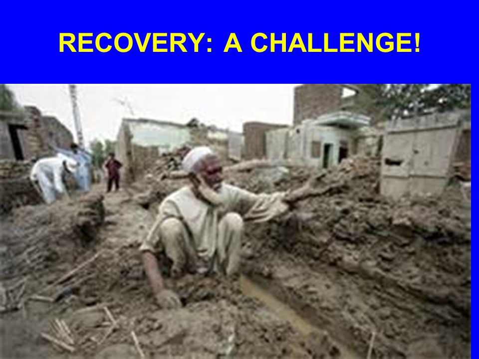 RECOVERY: A CHALLENGE!