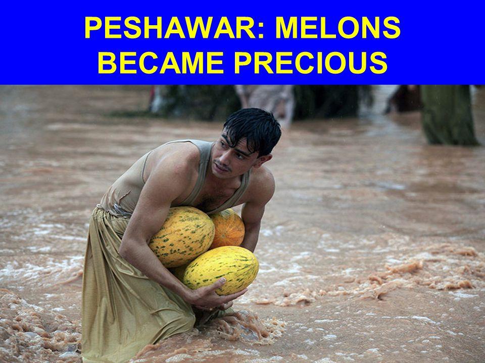 PESHAWAR: MELONS BECAME PRECIOUS