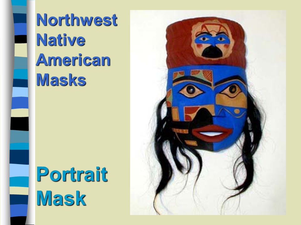 Portrait Mask Northwest Native American Masks