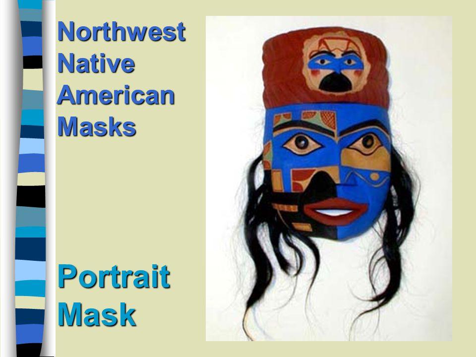 Wild Man Mask Northwest Native American Masks