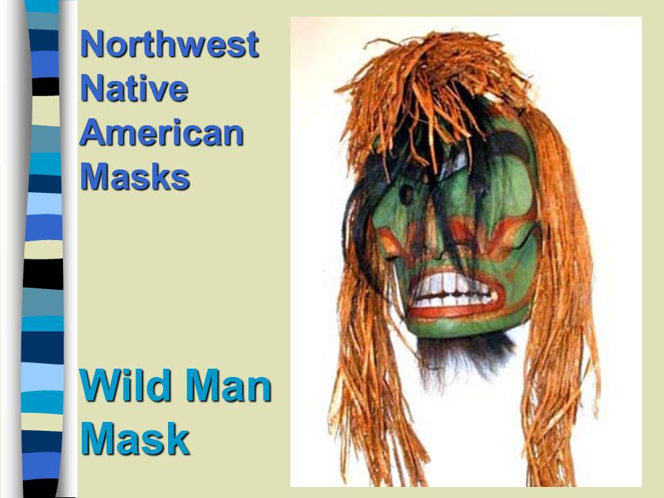 Old Woman Mask Northwest Native American Masks