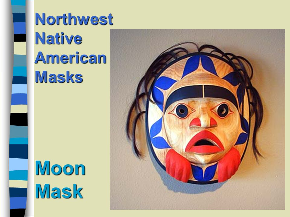 Moon Mask Northwest Native American Masks