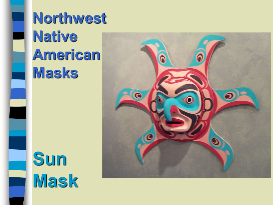 Sun Mask Northwest Native American Masks