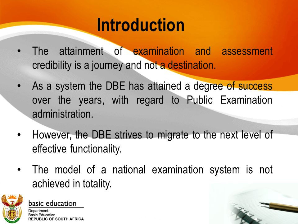 The Examination Cycle 5 Credible Exams & Assess Assessment Instruments Test Admin Marking & Moderation Analysis & Feedback