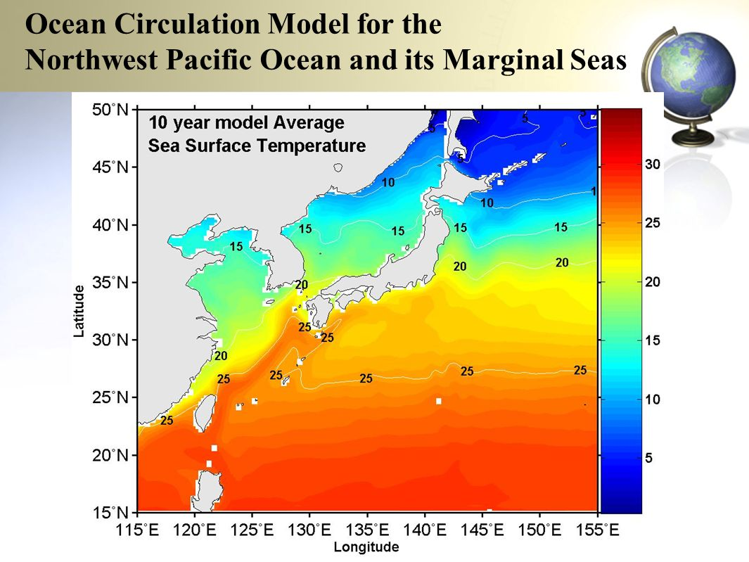 Ocean Circulation Model for the Northwest Pacific Ocean and its Marginal Seas