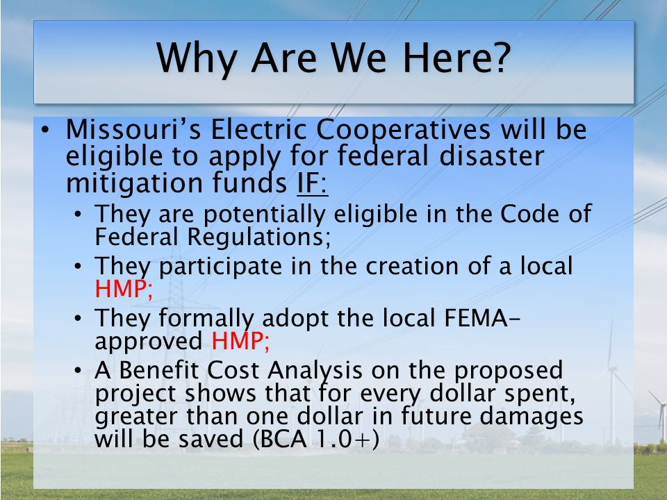 Break Out Northwest Missouri Regional Council of Governments Atchison-Holt Electric Cooperative Green Hills Regional Planning Commission Farmers' Electric Cooperative, Inc.