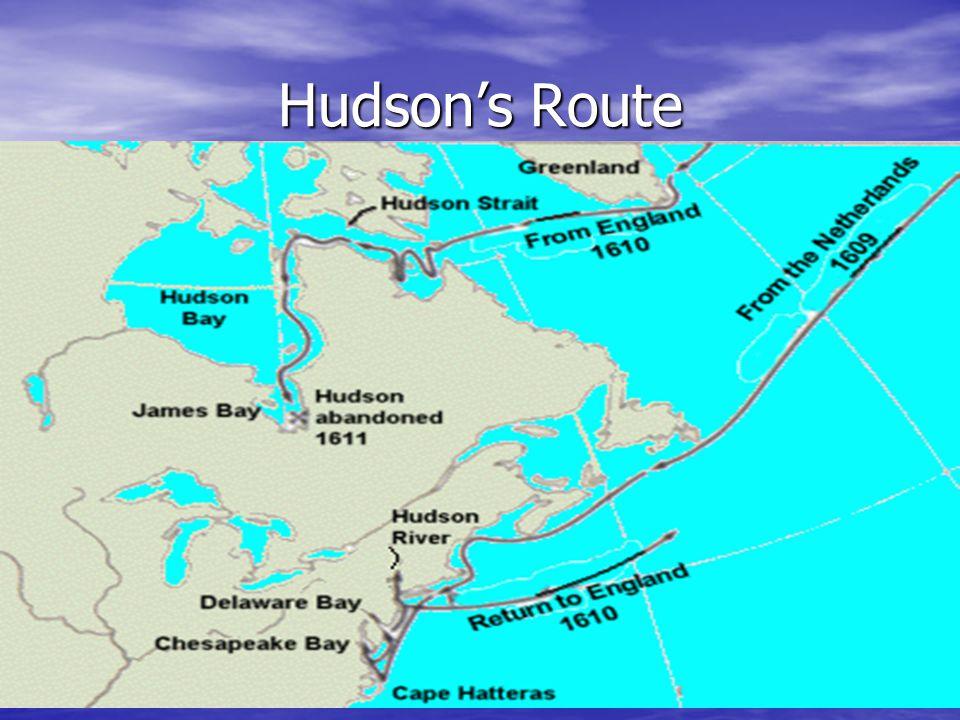 Hudson's Route