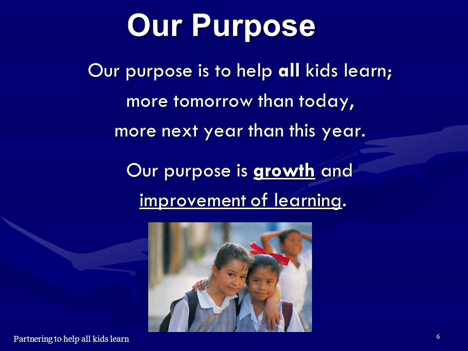 Partnering to help all kids learn 5 NWEA Partner Districts We partner with schools and districts to help all kids learn. AK British Columbia Taiwan OR