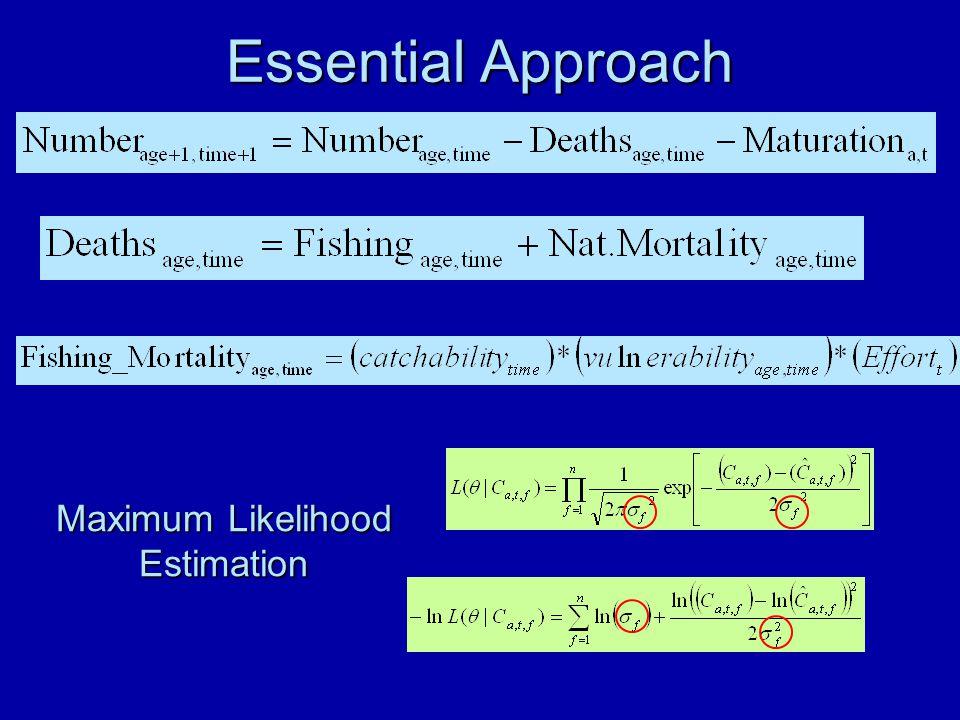 Essential Approach Maximum Likelihood Estimation