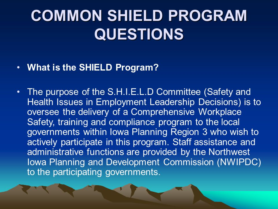 How is SHIELD organized .
