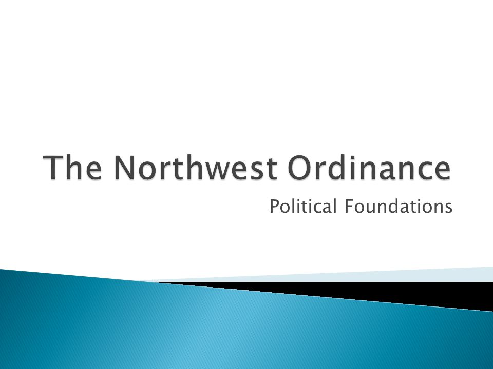 Political Foundations