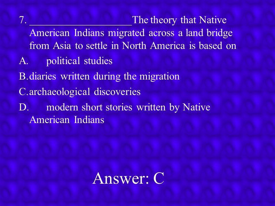 Answer: C 6.______________________In the 1400 s, Europeans were able to begin exploring for new trade routes to Asia because of A.increases in religious toleration in Europe B.a decline in the power of absolute power C.advances in navigation and shipbuilding D.