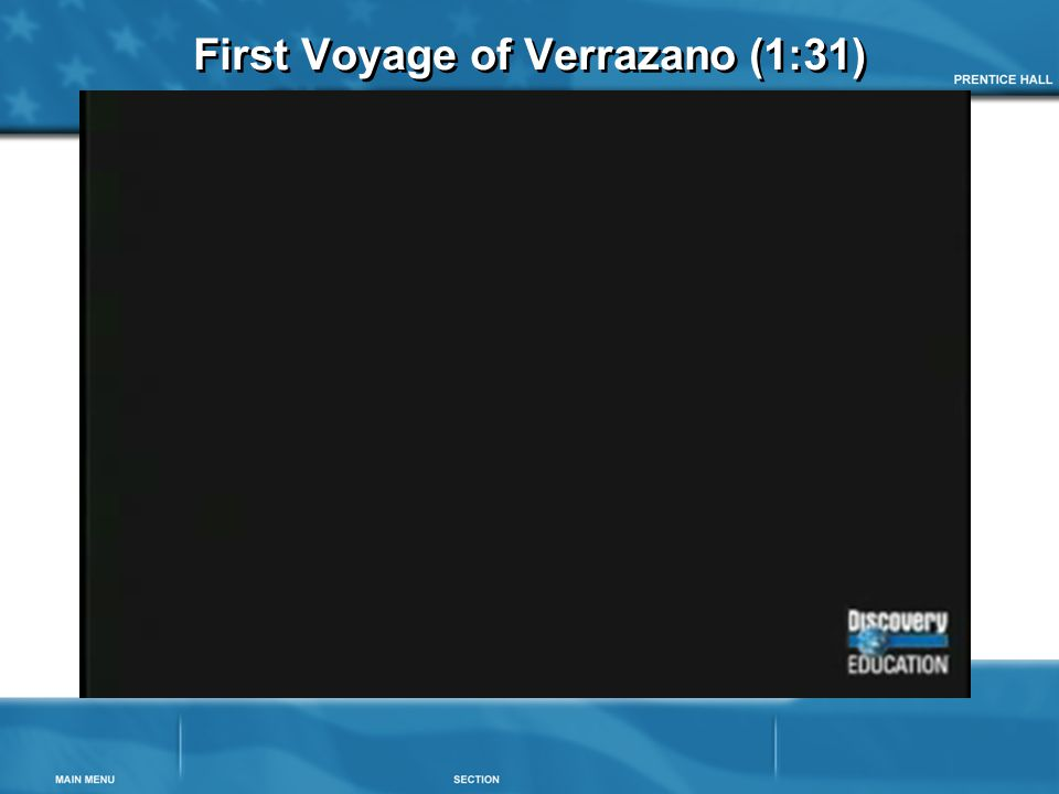 First Voyage of Verrazano (1:31)