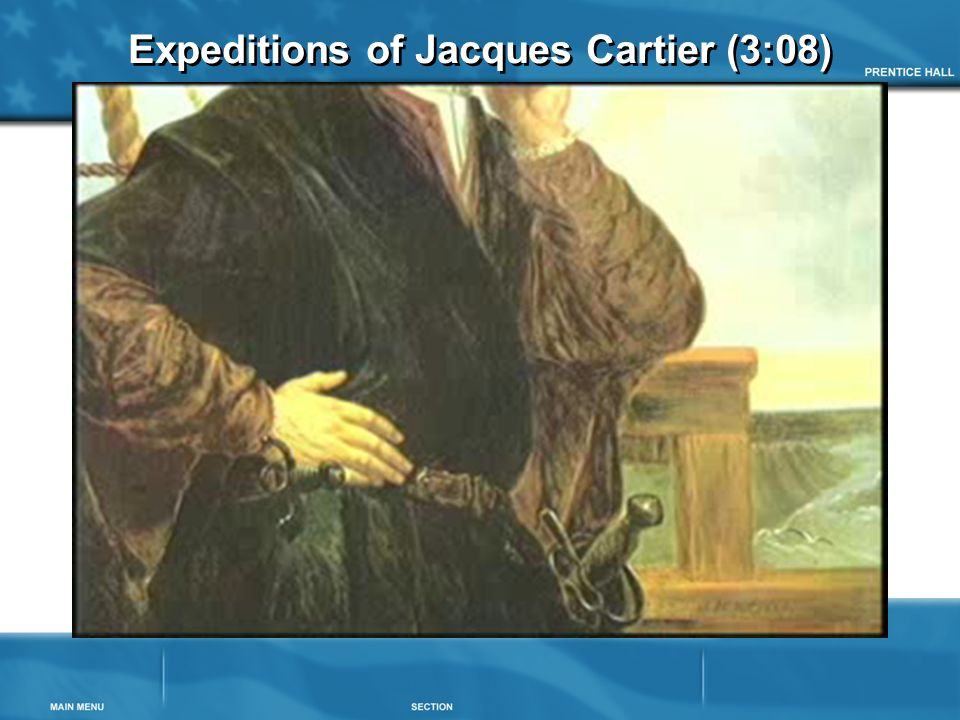 Expeditions of Jacques Cartier (3:08)
