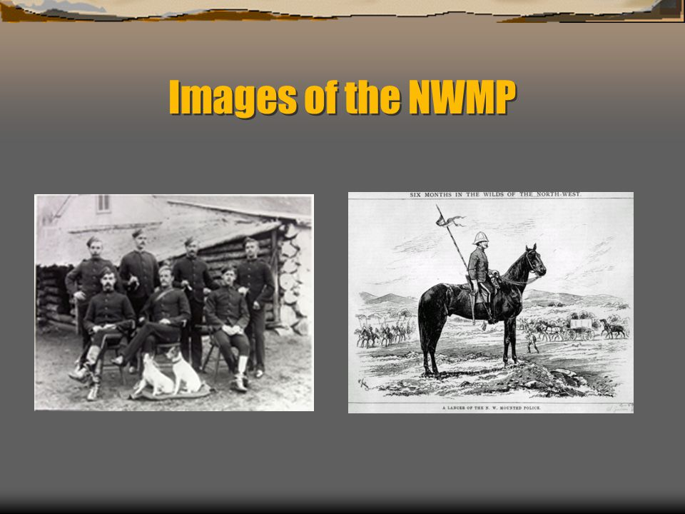 Images of the NWMP