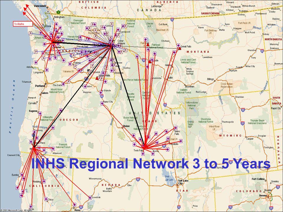 INHS Regional Network 3 to 5 Years