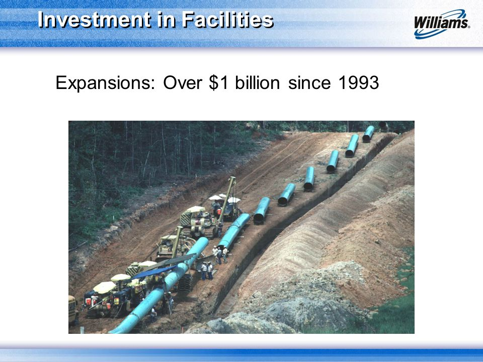 Investment in Facilities Expansions: Over $1 billion since 1993
