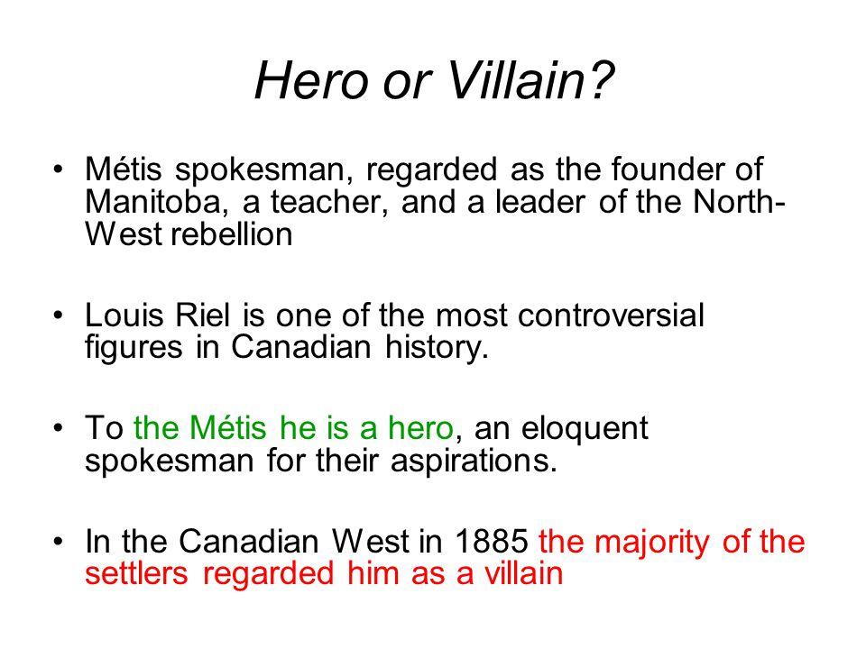 Hero or Villain.