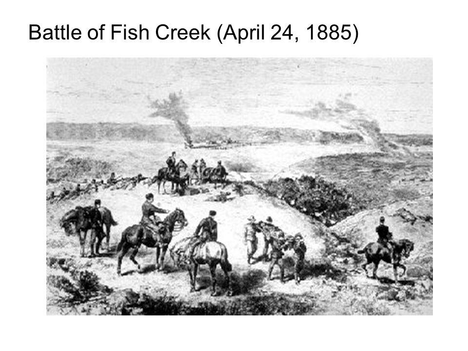 Battle of Fish Creek (April 24, 1885)