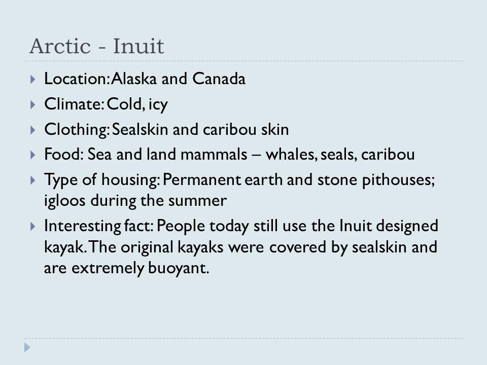 Inuit pithouse