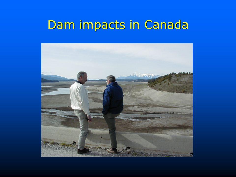 Dam impacts in Canada