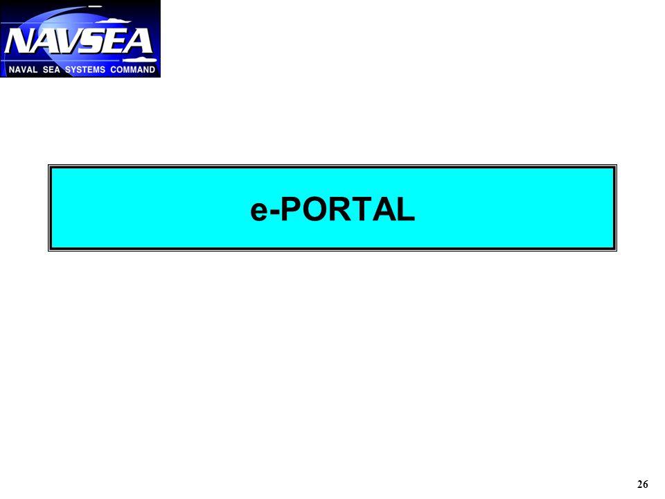 26 e-PORTAL