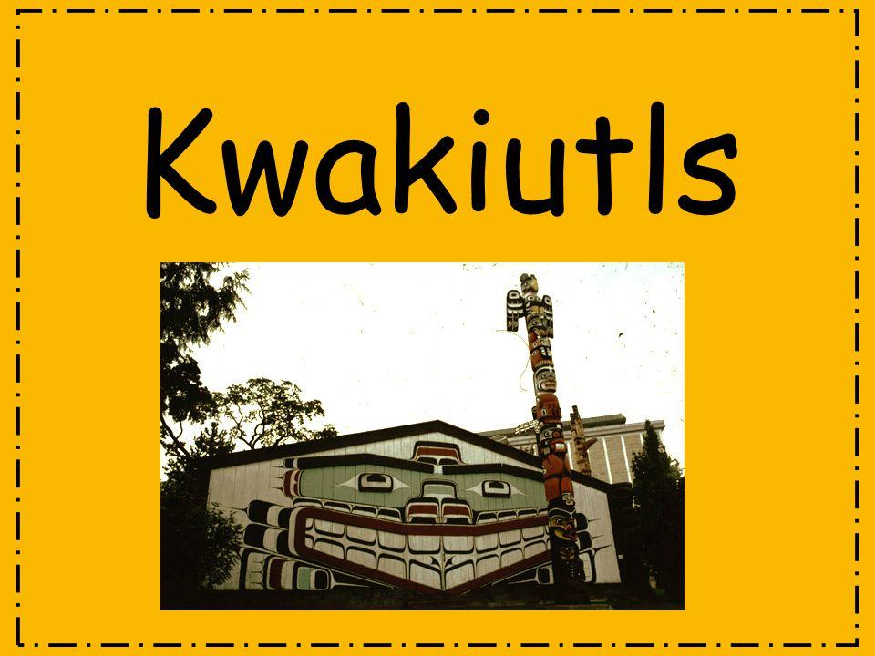 Where did the Kwakiutl Live.