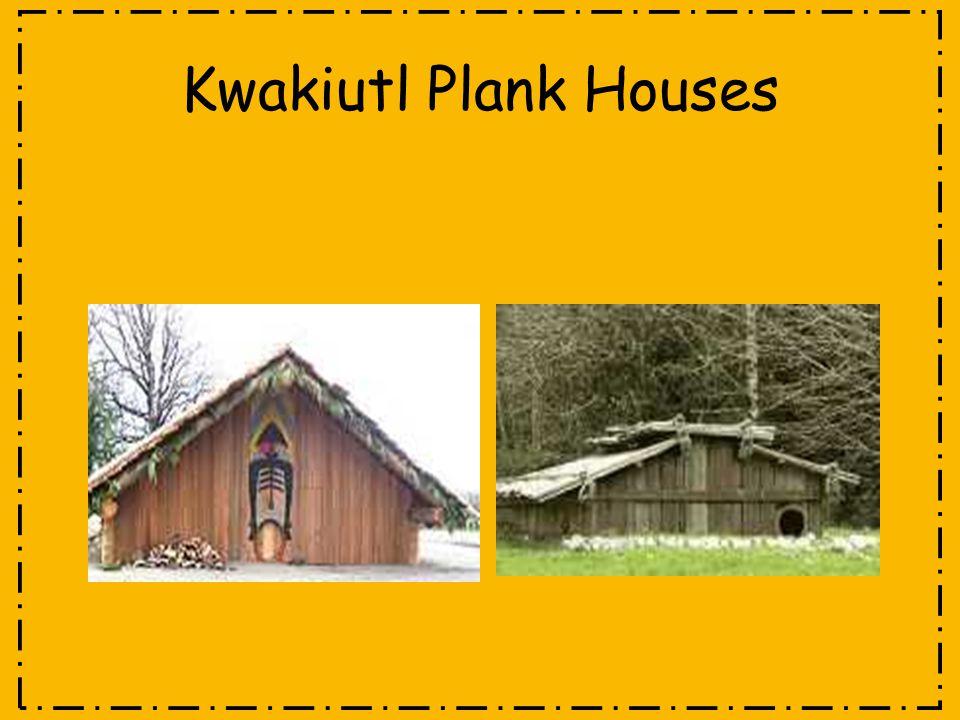 Kwakiutl Plank Houses